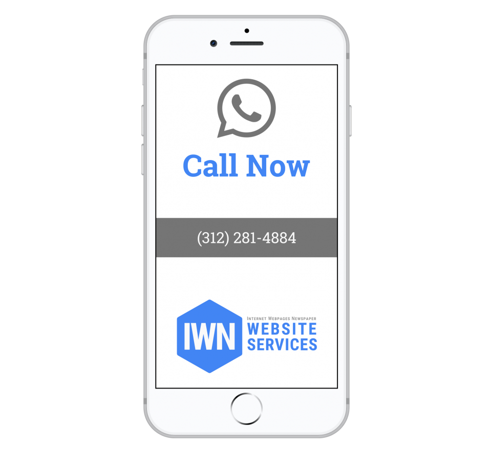Call Dante at IWNWebsiteServices.com Now 312-281-4884