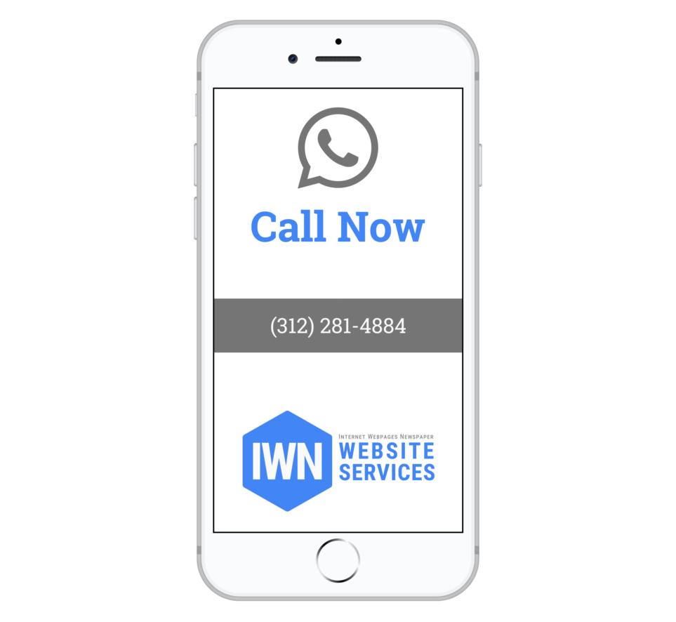 Call Dante at IWNWebsiteServices.com Now 312-281-4884